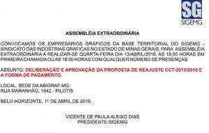 Assembléia Extraordinária
